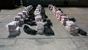 Decomisan en Panamá más de 500 paquetes de droga con destino a Bélgica