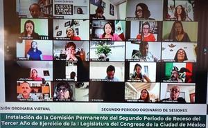 En 15 minutos diputados clausuran periodo ordinario del Congreso CDMX