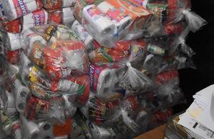 Decomisan mil 826 despensas en Hidalgo