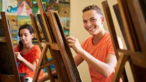 Jóvenes de Colombia y Venezuela acuden al arte para impulsar la integración