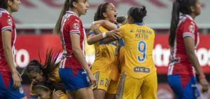 Tigres vence por 5-3 al Guadalajara y retiene el título de fútbol femenino