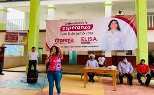 Elisa Zepeda acusa presencia de comando tras acto en la Cañada