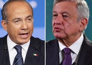 AMLO: Desea pronta recuperación a Calderón tras dar positivo a COVID-19
