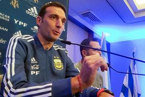 Scaloni, sobre la Copa América en Brasil: 'No es el lugar ideal'