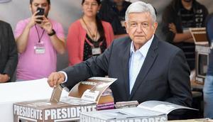 AMLO: Votará a las 10 am en casilla ubicada en la calle de Moneda