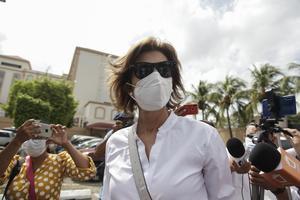 Incomunicada permanece Cristina Chamorro, en Nicaragua, tras arresto
