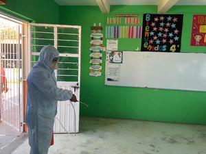 Sanitizarán espaciosde casillas para votar