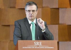 Marcelo Ebrard: Posición de EU sobre corrupción no es respuesta por MCCI