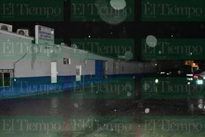 Caos por lluvia en Monclova