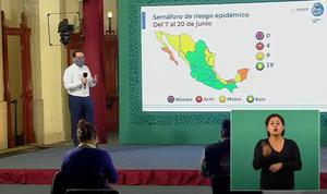 Coahuila y 18 entidades más, en semáforo verde por COVID-19