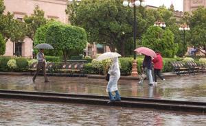 No se reportan daños mayores por intensas lluvias en SLP
