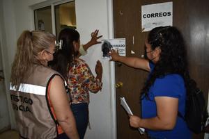 Por elecciones sellan departamentos de la presidencia municipal