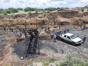 Inicia rescate de 7 mineros atrapados en Múzquiz