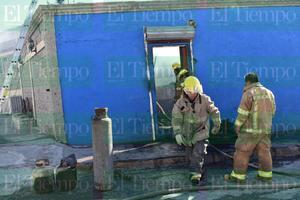 Arde en llamas carnicería en Monclova