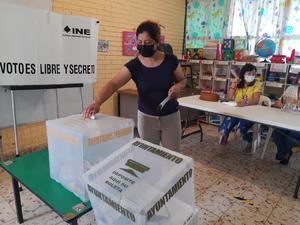 Con gran afluencia, arranca jornada electoral en San Buenaventura