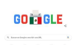 Google conmemora con 'doodle' elecciones 2021 de México