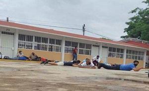 Grupo armado roba boletas en Lagunas, Oaxaca