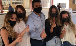 Vota García Cabeza de Vaca en Reynosa