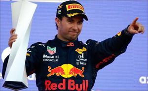 'Checo' Pérez sube al tercer lugar en el campeonato de F1