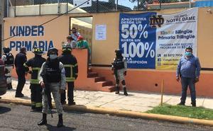 Reportan agresiones con bombas de humo en tres casillas de Naucalpan
