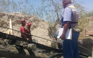 MARS: Se complica rescate de tres mineros por deslaves en mina de Muzquiz