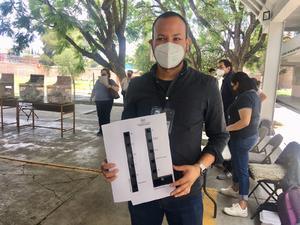 Hay boletas braille en casillas de Querétaro