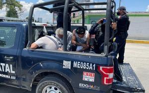 Detienen a 15 que irrumpieron casilla electoral en Metepec