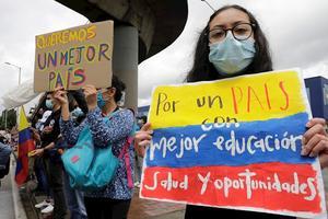 Gobierno colombiano dice que Comité de Paro suspende unilateralmente diálogo