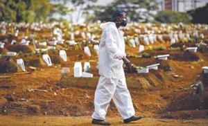 Brasil suma otros 873 muertos por COVID-19 y el total ya pasa de 473,000