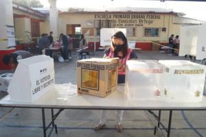 Finaliza jornada electoral en Oaxaca con 29 casillas siniestradas