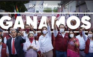 Mónica Rangel proclama ganador a Morena en San Luis Potosí
