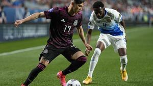 1-1 México y Estados Unidos al descanso en la final