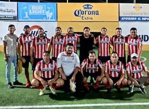 Chavorrucos campeones Del Torneo Más Sports