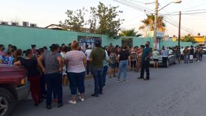 Desde temprana hora grupos panistas celebraban la victoria en Monclova