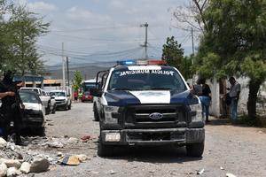 Roban material de construcción en Monclova
