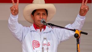El candidato por perú libre Pedro castillo supera a  Fujimori en preliminares