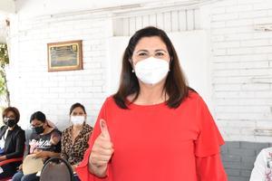 Se ausenta Lupita Murguía en rueda de prensa del PRI en Monclova