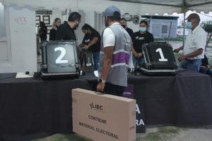 Que no hubo compra de votos, ni despensas; IEC