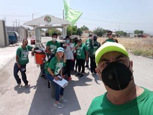 Se 'transa' líder estatal del Partido Verde 70 mil pesos en Frontera