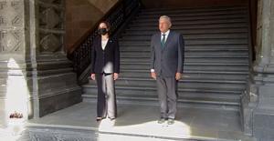 Firman México y EU memorándum en materia migratoria durante visita de Kamala Harris