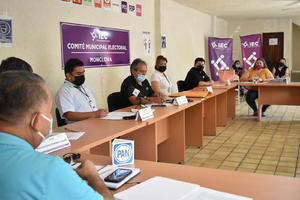 IEC en Monclova contará 294 actas; PAN con ventaja en conteo rápido