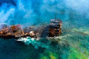 Sri Lanka investiga la muerte de especies marinas tras hundirse un barco