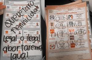 'Querétaro feminicida'; denuncian y anulan el voto