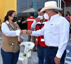 Trabajan autoridades de Frontera para la próxima vacuna antiCOVID-19