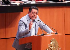 Se reincorpora al Senado Félix Salgado, tras intentar ser gobernador