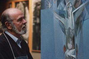 Fallece a los 97 años Jordi Alumà, el pintor del deporte y el olimpismo
