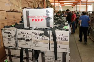 INE: Inicia recuento de 97 mil paquetes electorales