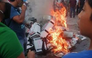 Presenta ITE-Tlaxcala denuncias por quema de boletas