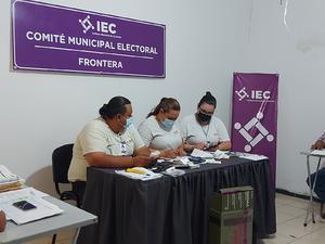 Habrá recuento de votos en Frontera por diversas causas
