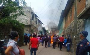 Queman papelería electoral en consejo municipal de Ocuituco, Morelos